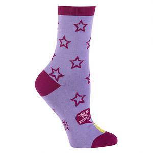 Sock It To Me Women's Bestest Chick Crew Socks
