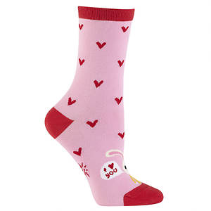 Sock It To Me Women's Love Bunny Crew Socks