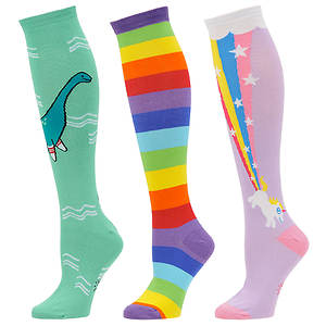 Sock It To Me Women's 3-Pack Mythical Knee High Socks