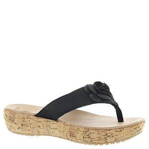 Crocs™ A-Leigh Floral Flip Flop (Women's)