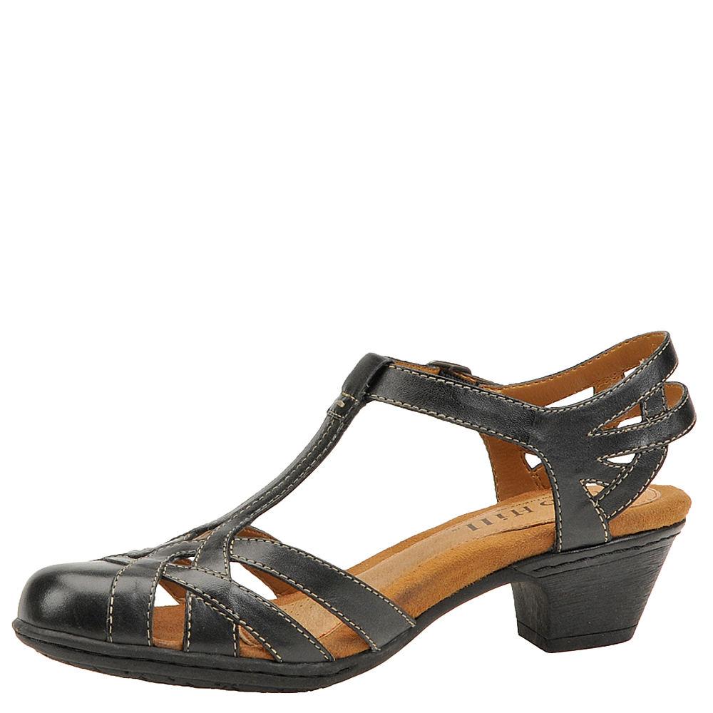 Tan High Hill Shoes