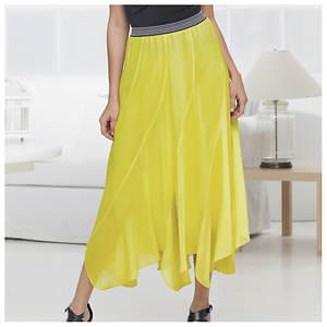 Gored Maxi Skirt