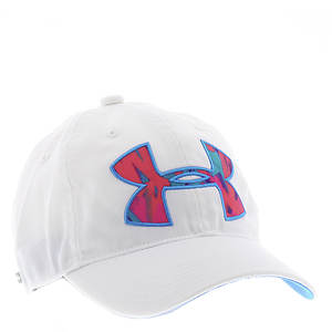 Under Armour Girls' Big Logo Adjustable Cap