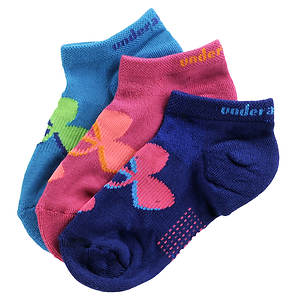 Under Armour Girls' 3-Pack Solo III Socks