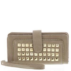 Studded Wristlet Wallet