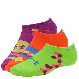 Under Armour Recur II No Show Socks 3 PK (women's)