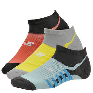 New Balance Women's N195 3-Pack Low Cut Socks