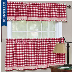 "Buffalo Check 58 x 14"" Valance"""