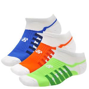 New Balance N312 No Show 3 Socks (Men's)