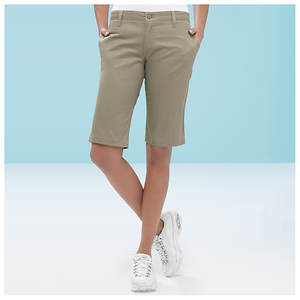 Dickies Girl Stretch Twill Shorts