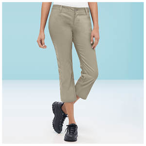 Dickies Girl Stretch Twill Capri Pants