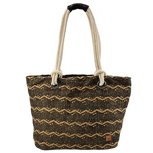 Roxy Eye Catcher Beach Tote Bag