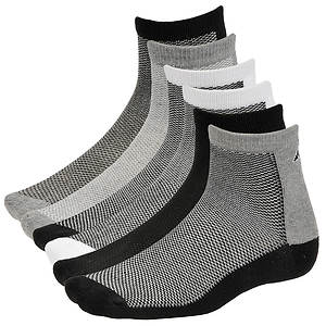 Avia Men's 6pk Quarter Socks
