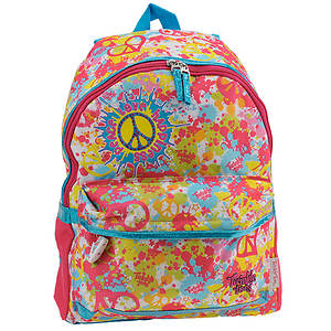 Skechers Girls' Neon Splatters Backpack