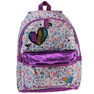 Skechers Girls' Rainbow Foil Backpack