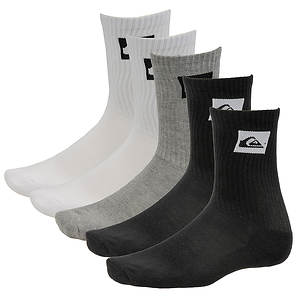 Quiksilver Legacy 5-Pack Crew Socks
