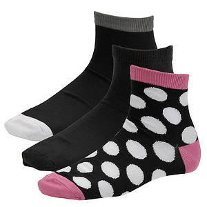 Chinese Laundry Women's 3564 3-Pack Super Soft Ankle Socks