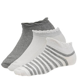 Chinese Laundry Women's 4328 3-Pack Lowcut Socks