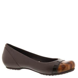 Crocs™ Cap Toe Tortoise Flat (Women's)