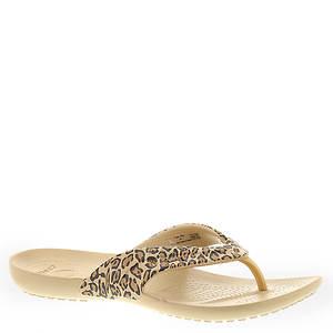 Crocs™ Kadee Leopard Print Flip Flop (Women's)