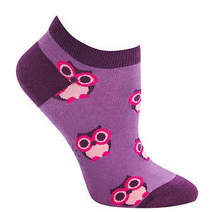 Sock It To Me Women's Ankle Pink Owl Socks