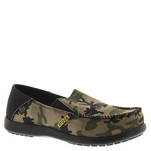 Crocs™ Santa Cruz Camo Loafer (Boys' Youth)
