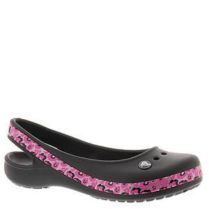 Crocs™ Crocband Genna II Leopard Flat (Girls' Youth)