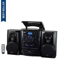 Jensen 3 CD Turntable Cassette Stereo