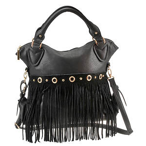 Cheyenne Suede Fringe Shoulder Bag