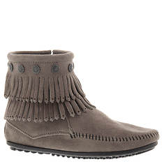 Minnetonka Double Fringe Side Zip  (Women's)