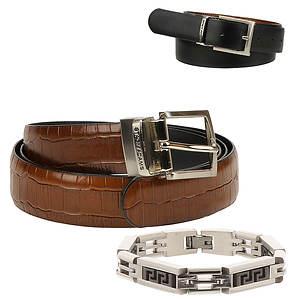 Stacy Adams Belt/Bracelet Gift Set