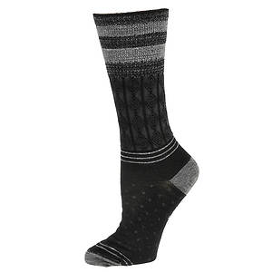 Smartwool Metallic Striped Cable Wool Socks (women's)