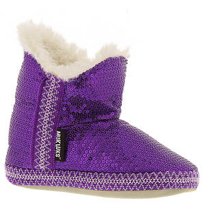 MUK LUKS Purple Sequence (Girls')