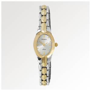 Armitron Women's Two Toned Oval Dress Watch
