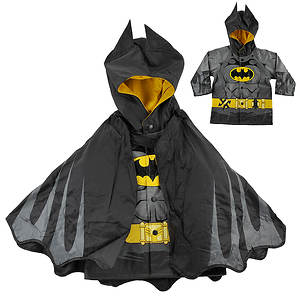 Western Chief Boys' Batman Caped Crusader Raincoat