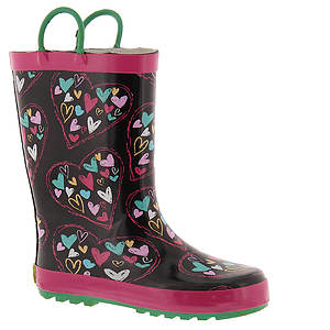Western Chief Heart Doodle Boot (Girls' Toddler-Youth)