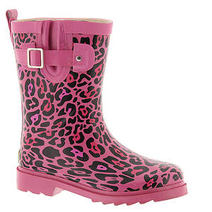 Western Chief Sparkle Leopard Buckle Boot (Girls' Toddler-Youth)