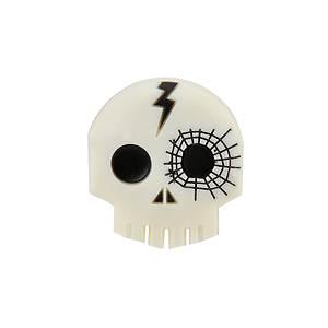 Jibbitz Funky Skeleton Bolt (Boys')