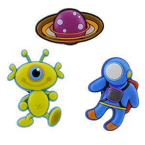 Jibbitz OTS Space 3-Pack (Boys')
