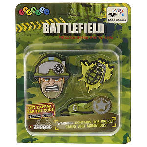 Jibbitz ZAP Military 3-Pack (Boys')