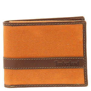 Timberland Canvas/Hunter Passcase Wallet
