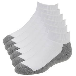 Sof Sole Kids' 6-Pack All Sport Low Cut Socks