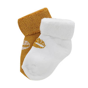 Timberland Baby Bootie 2-PK Kids' Socks