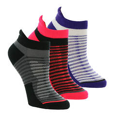 Asics 3-Pack Cushion Low Cut Socks (women's)