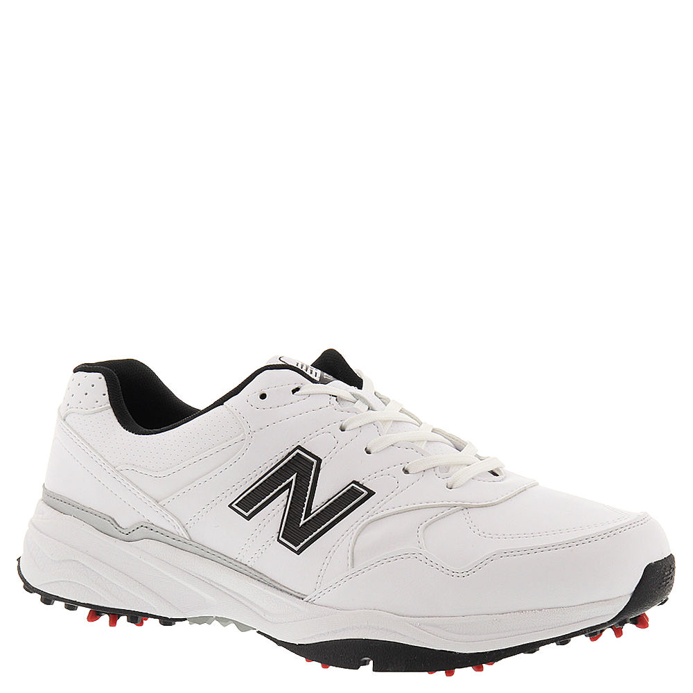 New Balance Mens NBG 1701 Golf Shoes-9.5 XW, WHITE
