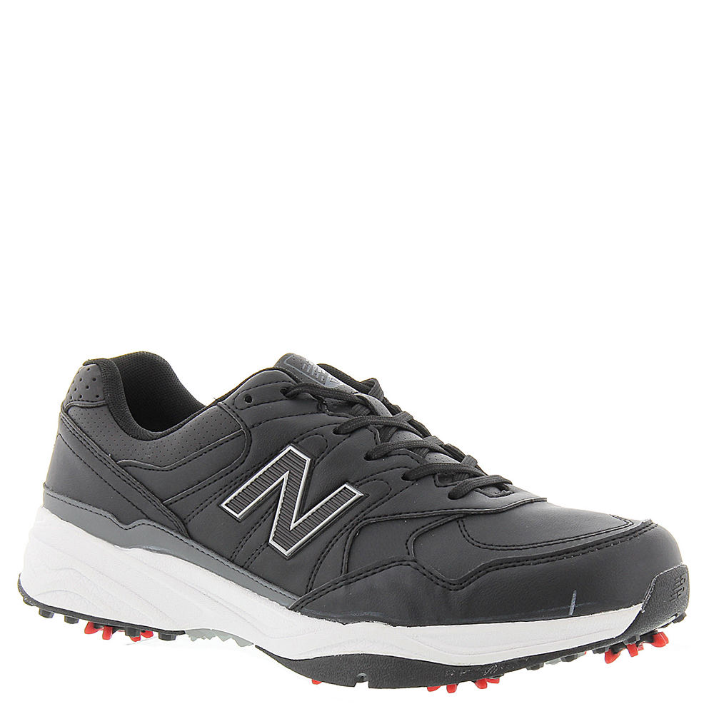 New Balance Mens NBG 1701 Golf Shoes-11 XW, BLACK
