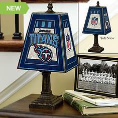 NFL Art Glass Lamp by Memory Company