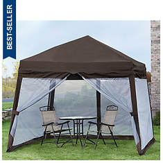 Folding Pop-Up Canopy With Mosquito Net