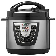 6-Quart Power Pressure Cooker XL