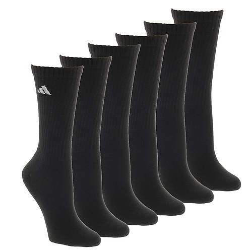 adidas Athletic 6-Pack Crew Socks (women's)